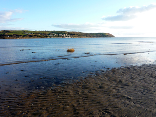 Llansteffan evening light