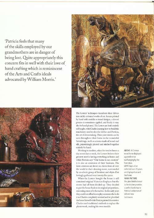 Oriental decorative pieces