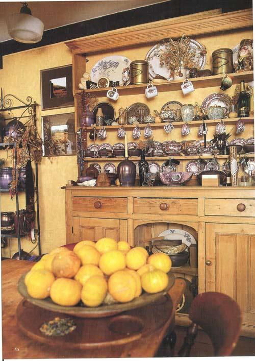 comfortable farmhouse kitchen
