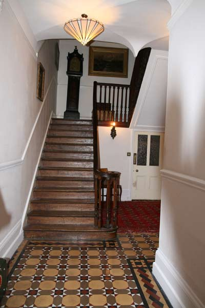 Georgian period oak staircase