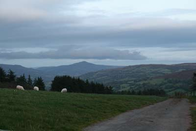 Local walks near house in Abergavenny